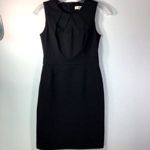 Loft Black Sheath Dress 00P